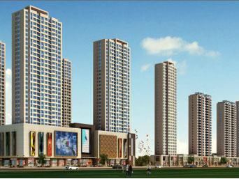 抚顺市银川社区中伟国际广场1#地块